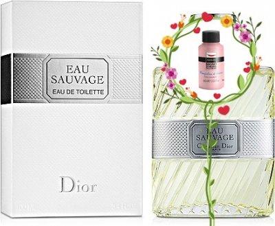 Мужская парфюмерия Туалетная вода Dior Eau Sauvage man edt 100ml (3348900627437)
