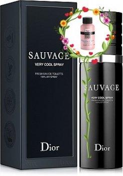 Мужская парфюмерия Туалетная вода Dior Sauvage Very Cool Spray man edt 100ml (3348901355339)
