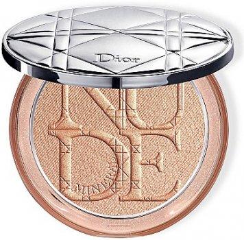 Пудра Осветляющая пудра для лица Dior Diorskin Mineral Nude Luminizer Powder 04 - Bronzed Glow (3348901399913)