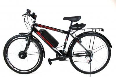 Электровелосипед Mustang Man 26 колесо 36В 350Вт 13Ач литий ионный аккумулятор черный