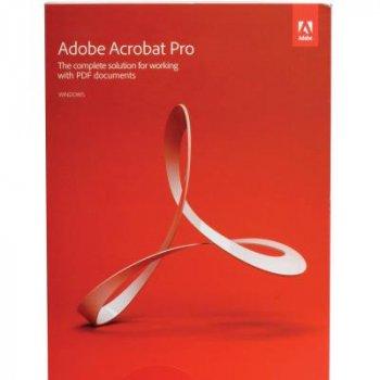 Adobe Acrobat Pro 2020 Multiple Platforms Russian (безстрокова) AOO License TLP 1 ПК (65310720AD01A00)