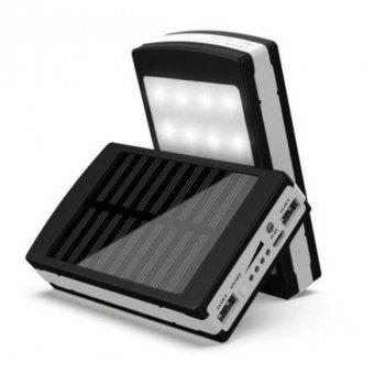 Зарядний пристрій ART-4664 ( SOLAR POWER BANK 100000mah solar+LED ) + USB кабель