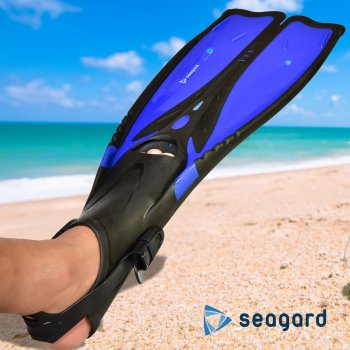 Ласты Seagard Long L 44-48 Черно-синий