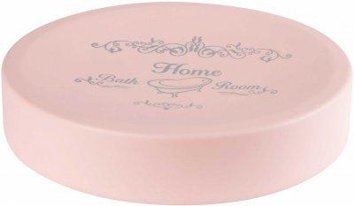 Мыльница BISK Nicea 06756 розовая