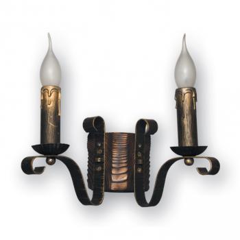 Бра настінне Фабрика Світла 2 свічки Е14 серії Lilia 120922