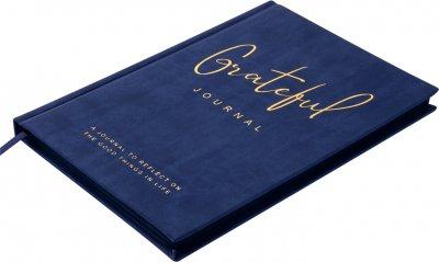 Деловой блокнот Buromax Grateful A5 в точку 96 листов обложка из искусственной кожи Синий (BM.295319-01)