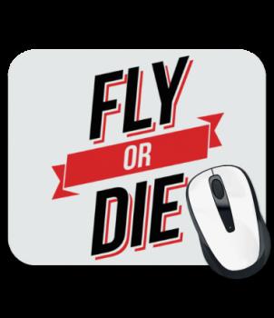 Коврик для мыши Fly or Die