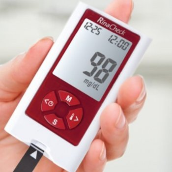 Глюкометр Рина Чек - Rina Chek+100 тест-полосок