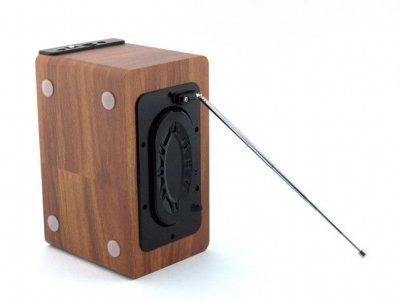 Портативна Bluetooth колонка радіоприймач Atlanfa AT-1822BT з USB накопичувачем Original