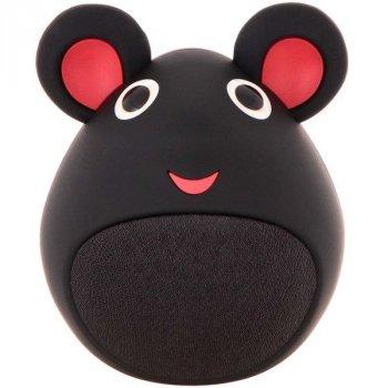 Портативна Bluetooth Колонка iCutes Mouse Black