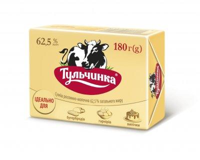Суміш рослинно-молочна 62,5% Тульчинка брикет 180г
