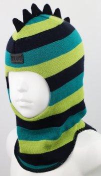 Зимняя шапка-шлем Ruddy для мальчика 2215-18-21 модель Дино р. 1 (47-49 см)