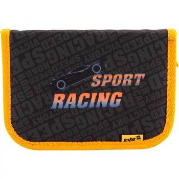 Пенал школьный Kite 621 Sport RacingK18-621-6 Черный