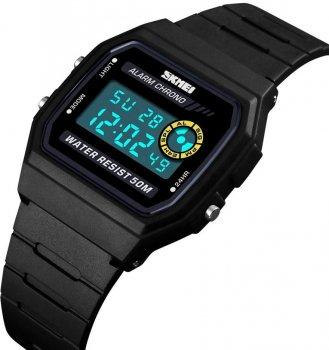 Жіночий годинник Skmei 1413BOXBK Black BOX