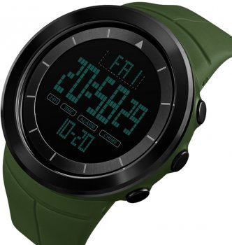 Мужские часы Skmei 1402BOXAG Army Green BOX