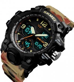 Чоловічий годинник Skmei 1327BOXCM Camouflage BOX