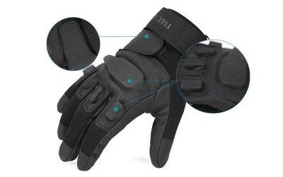 Перчатки тактические с закрытыми пальцами BLACKHAWK BC-4468 /2 (р-р L, черный)