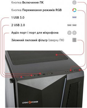 Комп'ютер Everest Home 4070 (4070_9428)