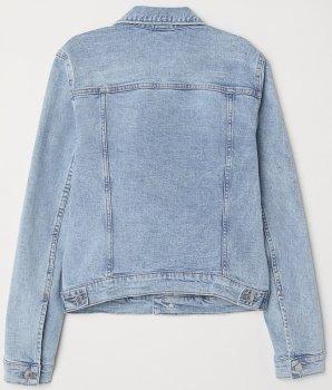 Джинсова куртка H&M 2112-3990611 Блакитна