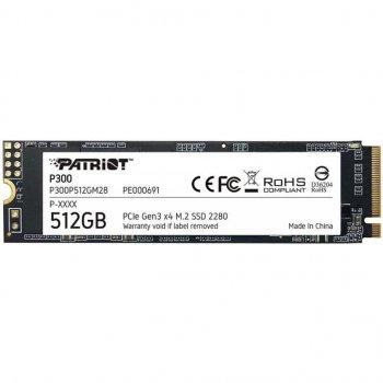 Накопичувач SSD M. 2 2280 512GB Patriot (P300P512GM28)