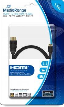 Кабель MediaRange HDMI с Ethernet 1.5 м (MRCS165)