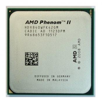 Процесор AMD Phenom II X4 840 3,2 GHz AM3 Б/У