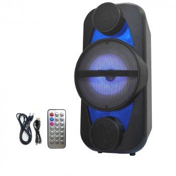 Акустична система Ailiang LiGE-A56 акумуляторна з підтримкою AUX, XLR, Bluetooth, USB, WiFi, Audio Line Чорна (11189)