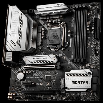 Материнская плата MSI MAG B460M Mortar WiFi (s1200, Intel B460, PCI-Ex16)