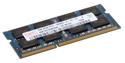 Оперативная память Hynix SODIMM DDR3-1333 4096MB PC3-10600 (HMT351S6BFR8C-H9)