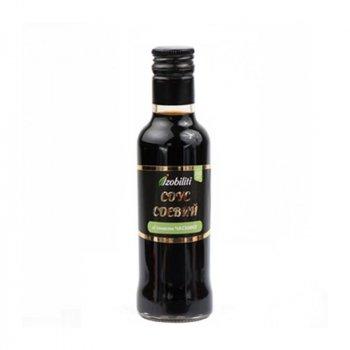 Соус Izobiliti соєвий зі смаком часнику 200г ск/б для суші (4820172440734)