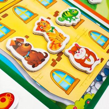 Магнітна гра Vladi Toys Властивості й ознаки (укр) (VT5412-03) (4820234760350)