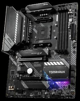 Материнская плата MSI MAG B550 Tomahawk (sAM4, AMD B550, PCI-Ex16)