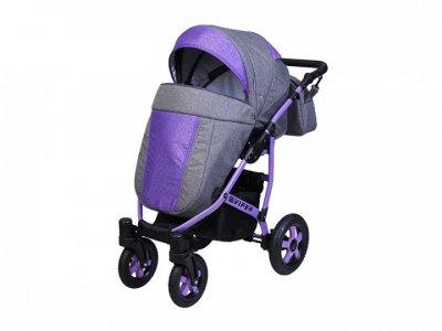 Детская универсальная коляска 2 в 1 Angelina Viper Spiral, фиолетовая (color 34)