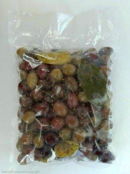 """Kalimera Мікс оливок та перчиків у маринаді """"Корінф"""", 560 г"""