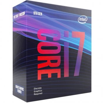 Процесор Intel Core i7-9700F 3.0 GHz/8GT/s/12MB (BX80684I79700F) s1151 BOX