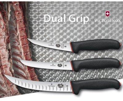 Професійний ніж м'ясника Victorinox Fibrox Butcher 200 мм (5.7223.20D)