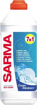 Упаковка геля для мытья посуды Sarma Сода-эффект антибактериальный 500 мл х 5 шт (ROZ6400050033)