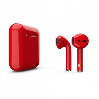 Навушники безпровідні Hbq i20 EDR сенсорні Red