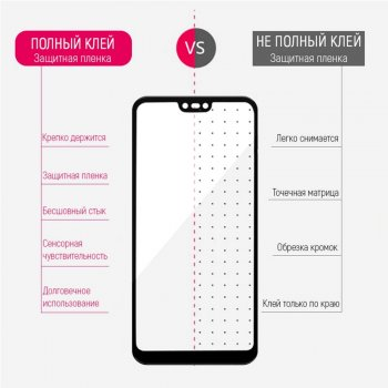 Захисне скло ColorWay для Xiaomi Poco F2 Pro Black (CW-GSFGXPF2P-BK)