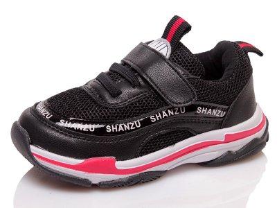 Кроссовки Shan Zu 31207 black-ROZ