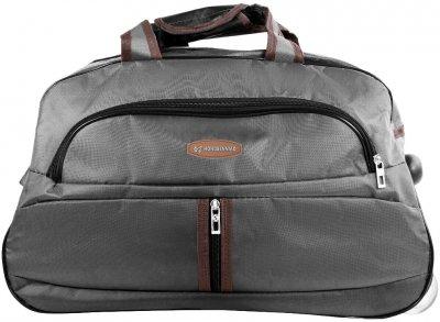 Дорожная сумка Hongsenniao маленькая на 2-х колесах 39 л Серая (3DETBS1902S-9)
