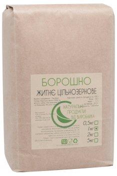 Мука Органік-Еко-Продукт ржаная цельнозерновая 1кг (4820226560067)
