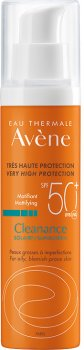 Солнцезащитное матирующее средство Avene Клинанс для жирной кожи SPF 50+ 50 мл (3282770112634)