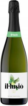 Вино игристое IL Lusio Cava Brut белое брют 0.75 л 11.5% (8410644122105)