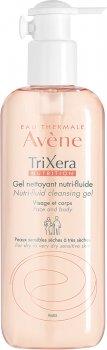 Очищающий гель Avene TriXera Nutrition для сухой кожи лица и тела 400 мл (3282770074710)