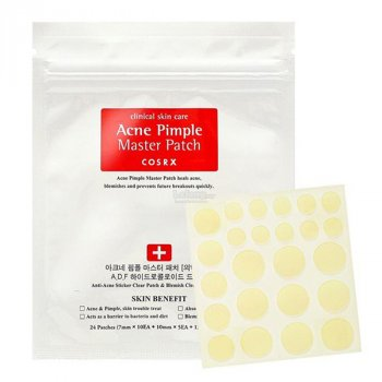 Сыворотка для лица Пластыри для лица от воспалений и прыщей Cosrx Acne Pimple Master Patch (ЕТ000267)