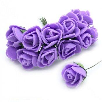 Роза латексна, 15 мм, Бузковий, 1 шт (DIF-008412) Polimex