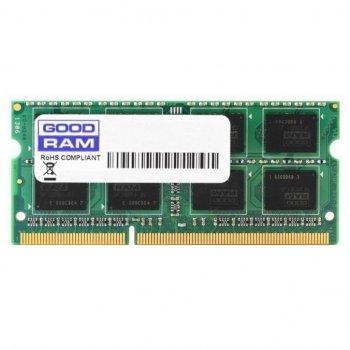 Модуль пам'яті для ноутбука SoDIMM DDR3 4GB 1600 MHz GOODRAM (GR1600S364L11S/4G)