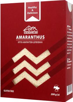 Крупа амарантовая Healthy Generation Home Super Food шлифованная 200 г (4820219570158)