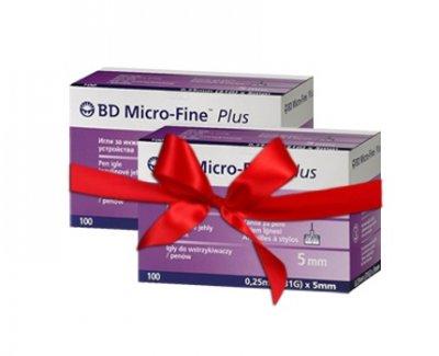 Набор! Иглы для инсулиновых шприц ручек MicroFine Becton Dickinson МикроФайн 5 мм (31G x 0,25 мм) - 2 уп.